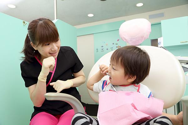 歯医者嫌いにさせない治療