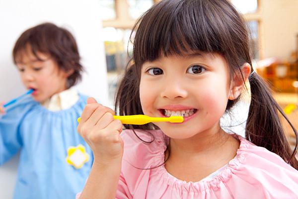 お子さまの歯を守るために